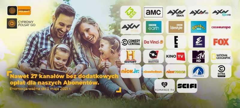 Nawet 27 Kanalow Tv W Otwartym Oknie Od Cyfrowego Polsatu I Sieci Plus Satinfo24 Pl